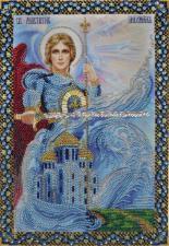 Икона Святого Архангела Михаила. Размер - 21 х 30,5 см.