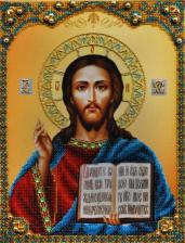 Икона Христа Спасителя. Размер - 21,5 х 28,5 см.