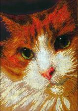 Рыжий кот. Размер - 16,5 х 24 см.
