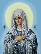 Богородица Умиление. Размер - 22 х 29 см.