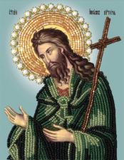 Св. Иоанн Креститель. Размер - 11 х 14 см.