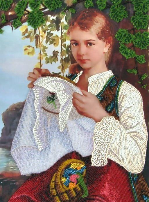 Авторское рукоделие, вышивка крестом, фото и история
