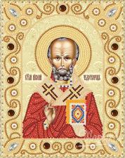 Св. Николай Чудотворец. Размер - 14 х 18 см.