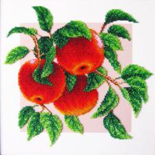 Яблоки. Размер - 26 х 26 см.
