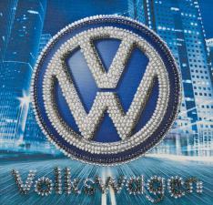 Volkswagen. Размер - 15 х 15 см.