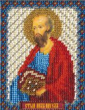Икона Св. Апостол Павел. Размер - 8,7 х 11 см.