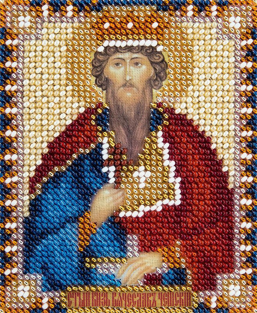 Вышивка бисером святой вячеслав 80
