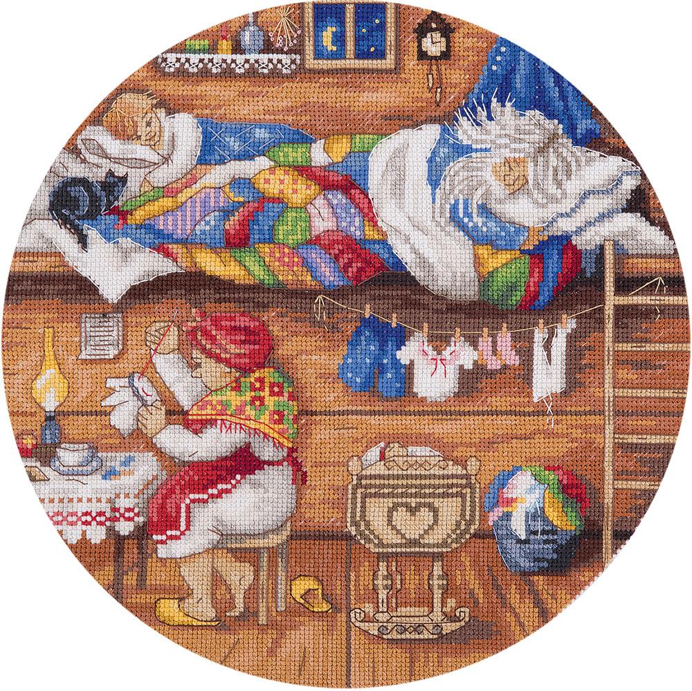 Схема вышивки домовой в семье покой