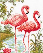 Фламинго. Размер - 26 х 31,5 см