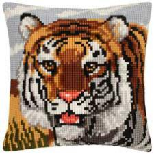 Тигр. Размер - 40 х 40 см.