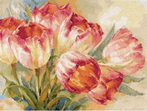 Тюльпаны. Размер - 40 х 30 см.