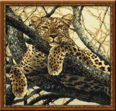 Леопард. Размер - 60х60 см