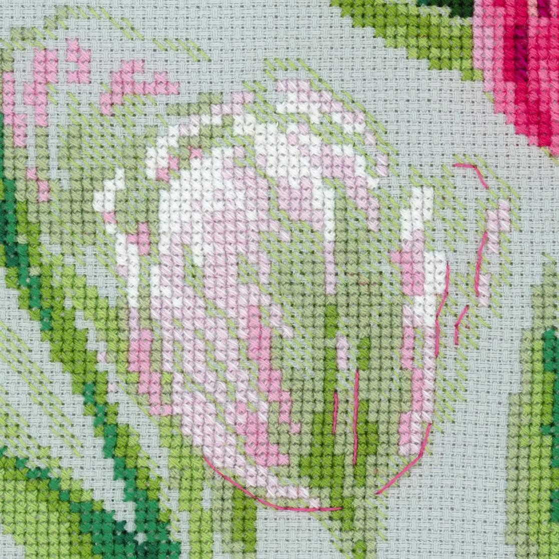 Все вышивки тюльпаны